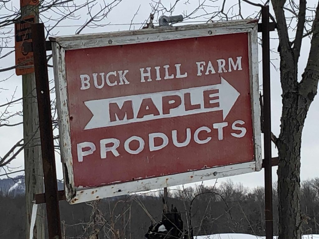 Buck Hill Farm Maple Syrup Products